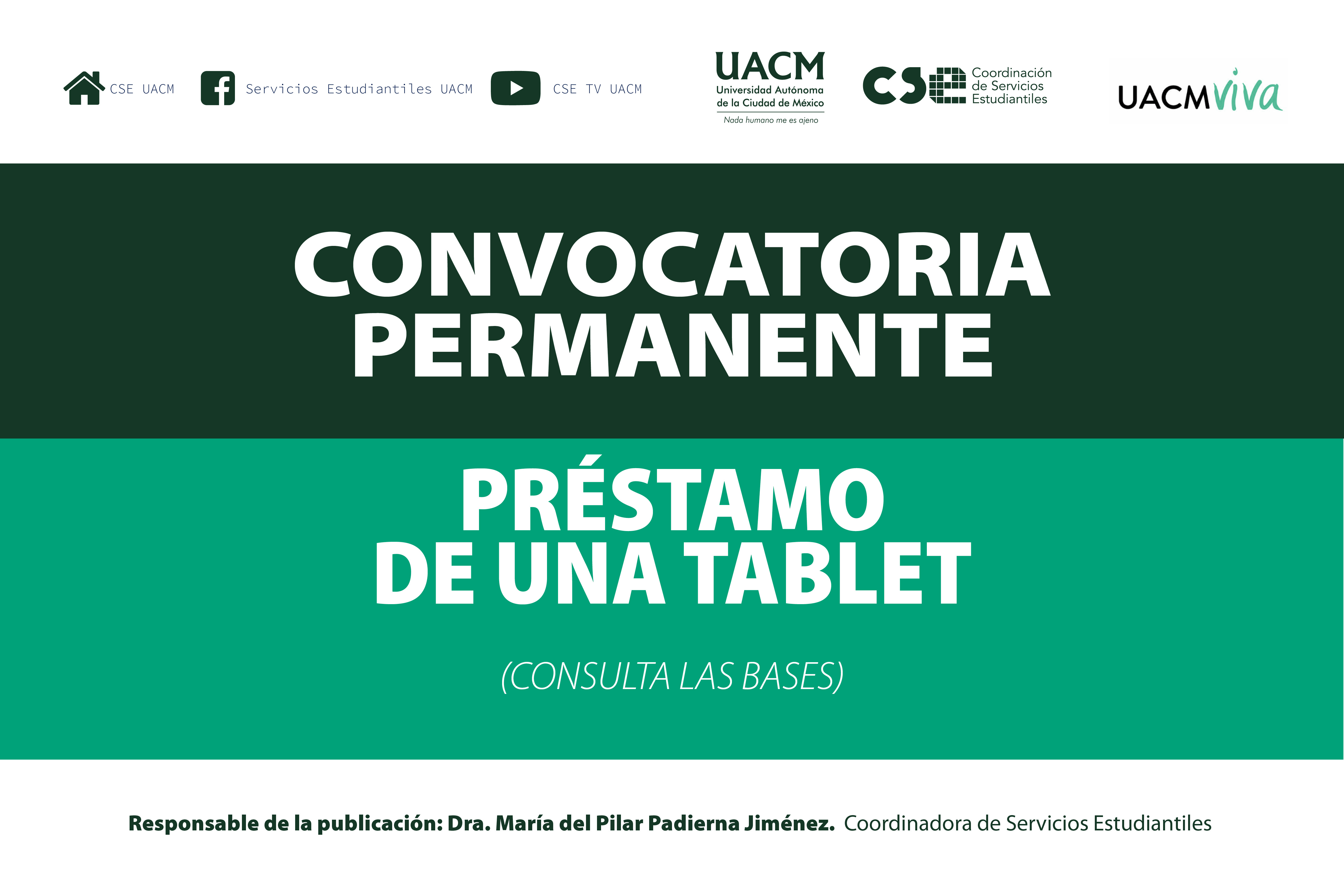 CONVOCATORIA TABLET