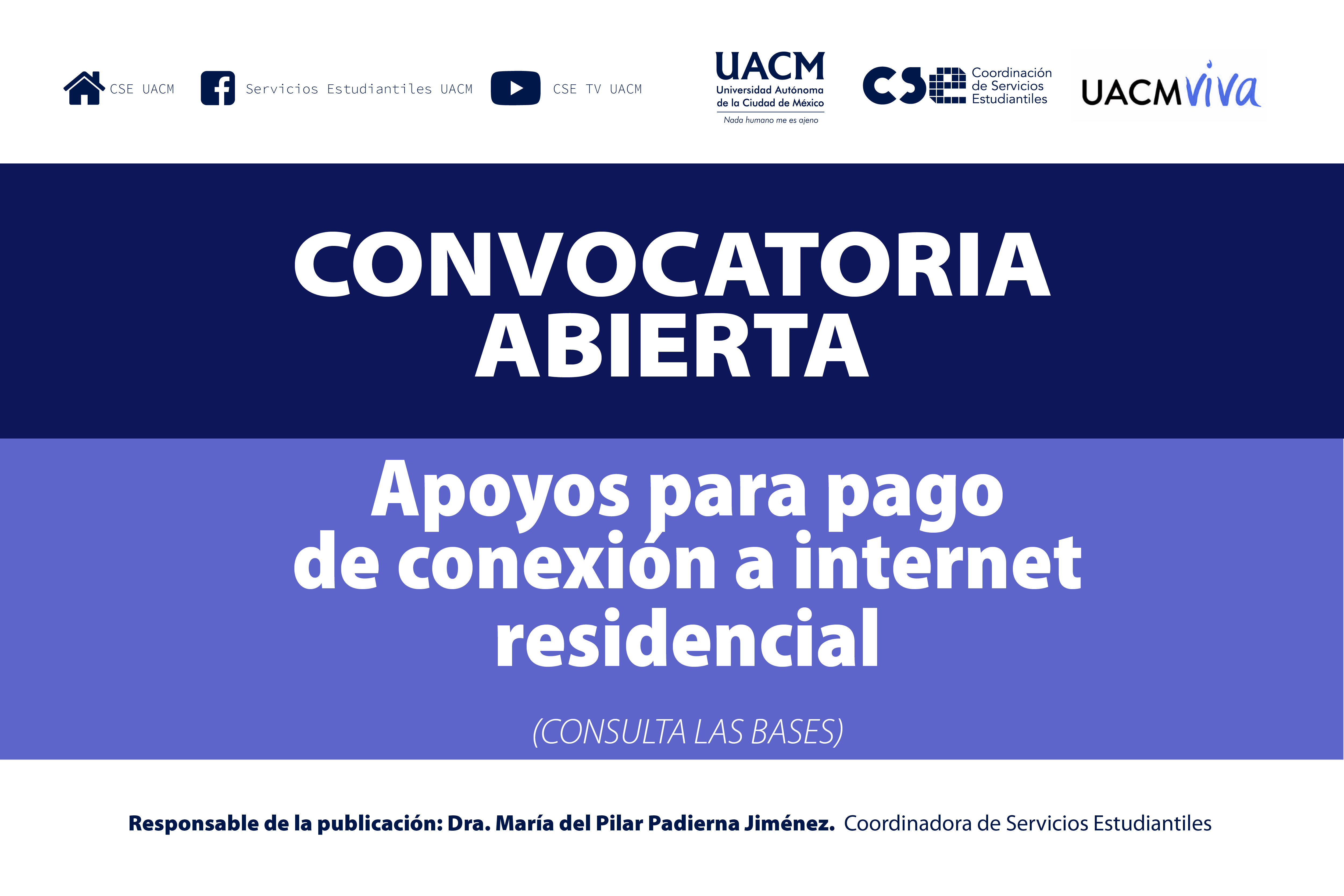 CONVOCATORIA INTERNET